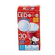ハローキティ LED電球30W形相当 昼白色