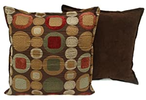 Sherry Kline 18-inch Metro Spice Pillow (Set of 2)
