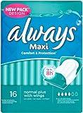Always Maxi Sanitary Towels Normal Plus 16