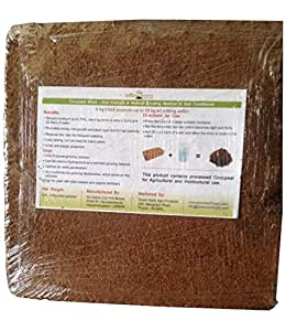 Green Earth Agro Cocopeat 2 No(s) of 5 KG Block Expands up to 100 KG