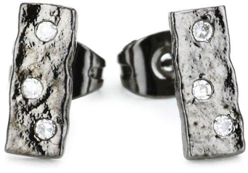 gorjana Merced Gunmetal Stud Earrings