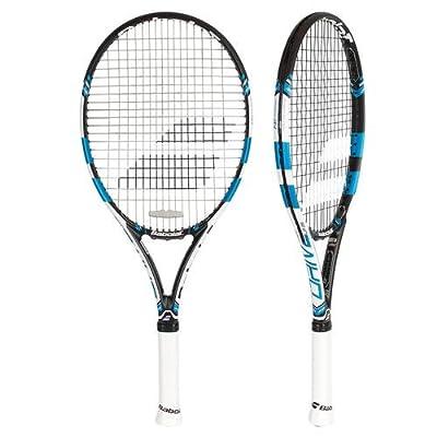 Babolat 140157-146 Pure Drive 26 Strung Tennis Racquet, Grip 1 (Black/Blue)