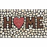 Apache Mills 60-779-1029 Masterpiece Home Stones Doormat,...