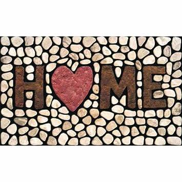 Apache Mills 60-779-1029 Masterpiece Home Stones Doormat, 18-Inch