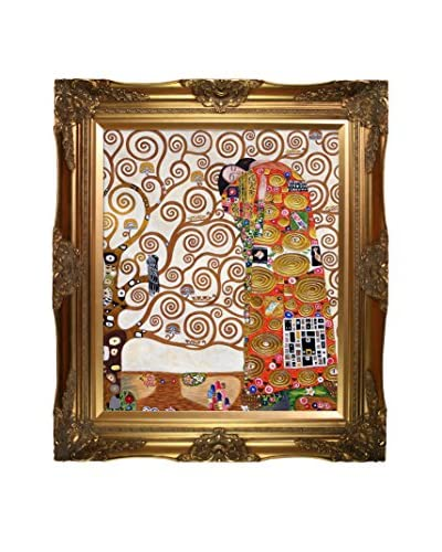 "Gustav Klimt ""Fulfillment"" Framed Oil Reproduction"