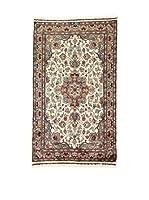 L'Eden del Tappeto Alfombra Kashmirian F/Seta Rojo / Beige / Gris 153  x  91 cm