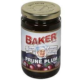 Baker Pie Filling, Prune, 10-Ounce (Pack of 6)