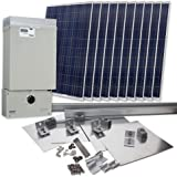 Grape Solar GS-2300-KIT Residential 2,300 Watt Grid-Tied Solar Power System Kit (Discontinued by Manufacturer)