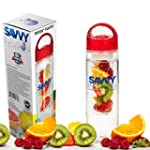 Infuser Water Bottle by Savvy Infusio...