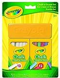 Crayola 98268 - Tizas Y Borrador