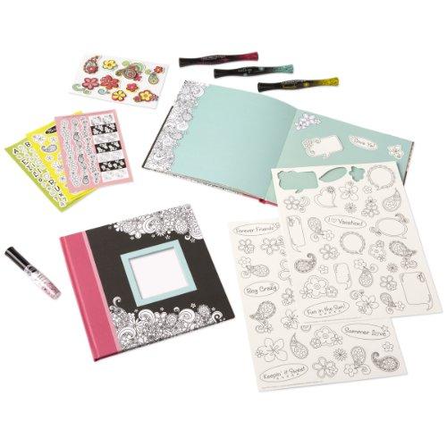 FASHION MARKS Super Scrapbook Kit Fun In The Sun Color Palette