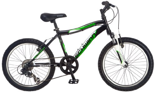 Schwinn Boy's Ranger 20-Inch Mountain Bike, Black