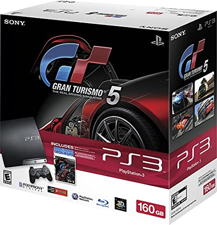 PlayStation 3 160GB Gran Turismo 5 Bundle
