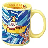 Vandor 64164 The Beatles Mug, Submarine, Yellow, 14-Ounce Amazon.com
