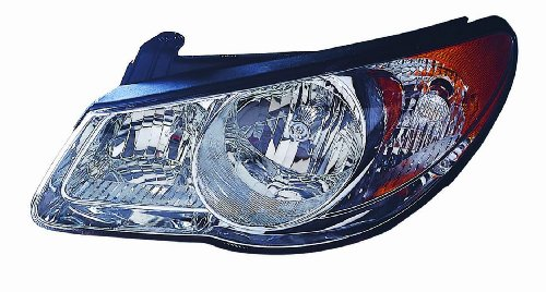 Depo 321-1134L-As Hyundai Elantra Driver Side Replacement Headlight Assembly