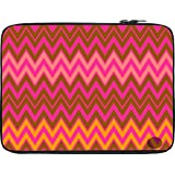 Snoogg Wave Patterns 13 To 13.6 Inch Laptop Netbook Notebook Slipcase Sleeve