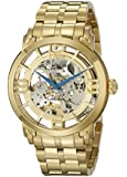 "Stuhrling Original Men's 165B2B.333331 ""Classic Winchester 44 Elite"" 23k Gold-Layered Automatic Watch"