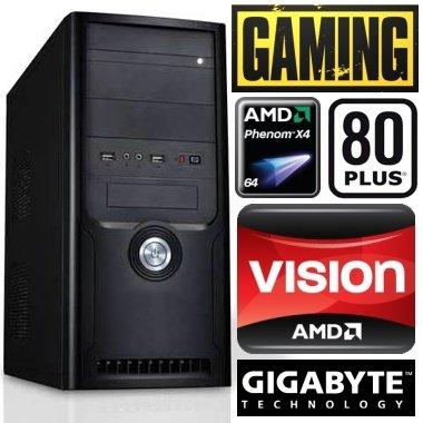 #4082 STROM SPAR Gaming / Multimedia COMPUTER   Phenom II X4 945 4x3.0 GHz   640 GB SATA II   8192MB DDR3 1333   Gigabyte GA-78LMT   AMD Radeon HD 6850 Overclocked 1024 MB DDR5   22xDVD±Brenner   7.1 Sound   GigabitLAN   Battlefield3 flüssig in Full-HD mit max. Details