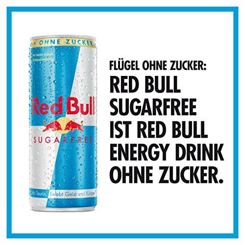 g nstig red bull sugarfree energy drink 4er pack einweg 4 x 250 ml dosen g nstig shoppen. Black Bedroom Furniture Sets. Home Design Ideas