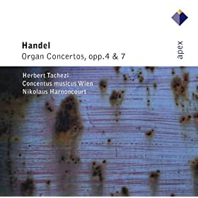 Handel : Organ Concerto No.8 in A major Op.7 No.2 HWV307 : II A tempo ordinario