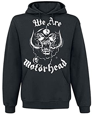 Motörhead We Are Motörhead Kapuzenpulli schwarz