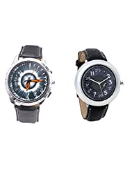 Foster's Men's Grey Dial & Foster's Women's Grey Dial Analog Watch Combo_ADCOMB0002325