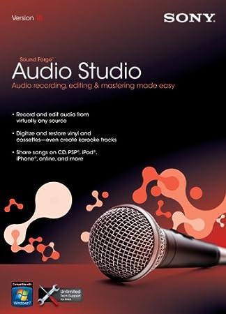 Sony Sound Forge Audio Studio 10  [OLD VERSION]