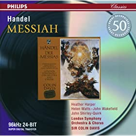 "Handel: Messiah / Part 2 - ""Behold And See"""