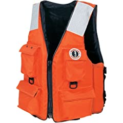 Buy Mustang Classic Industrial PFD with 4 Pockets by Mustang
