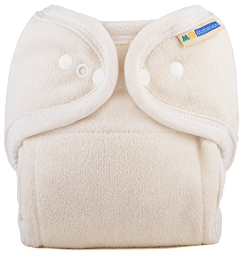 Mother-ease One Size Fitted Cloth Diaper (Unbleached)