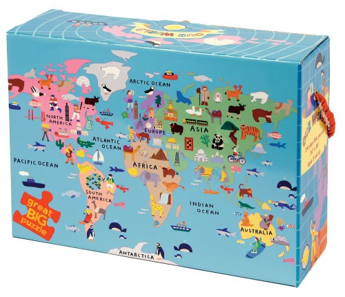 Cheap Mudpuppy Our World Floor Puzzle (735306559)