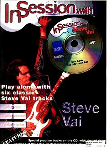 IN SESSION WITH VAI STEVE + CD: (Guitar Tab)