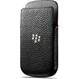 BlackBerry Leather Pocket Case for Q10 - Black