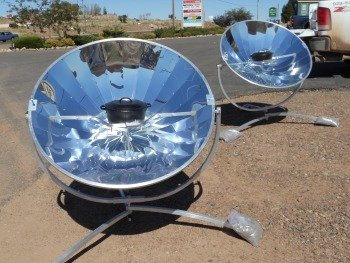 Sun Power Cooker Parabolic