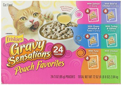 Friskies Fine Cuts & Seared Filets Variety Pack Cat Food Pou
