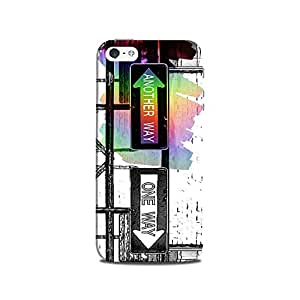 Mikzy Another Way And One Way Sign Board Printed Designer Back Cover Case for Iphone 5/5S
