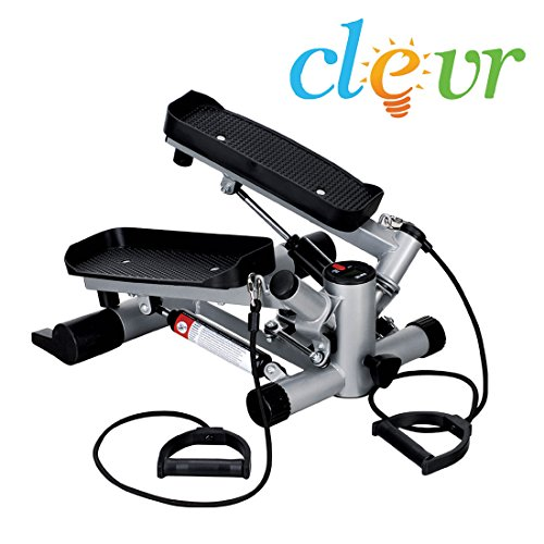 Best Price! NEW Clevr Twister Stepper Step Machine Cardio Training Exercise Fitness