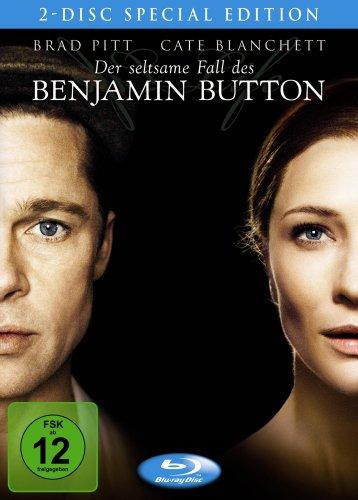 Der seltsame Fall des Benjamin Button (Special Edition inklusive hochwertigem Filmbooklet, 2 Discs) [Blu-ray]