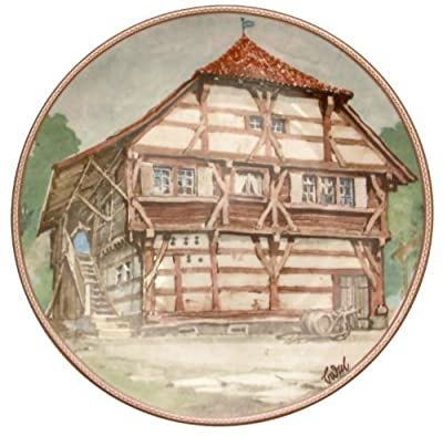 c1986 Konigszelt Bayern Bodenseehaus in Immenstaad Karl Bedal German Half Timbered Houses plate TN176
