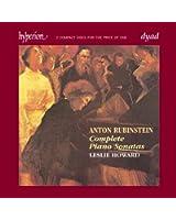 Anton Rubinstein : Sonates pour piano (Intégrale)
