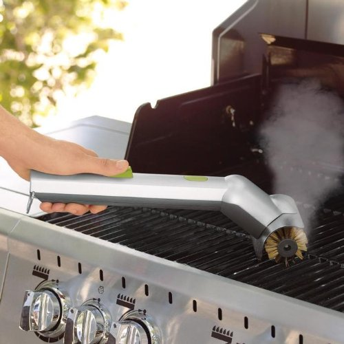 Great Features Of Motorized Grill Brush with Steam Cleaning Power