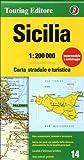 Sicily {Sicilia} (Regional Road Map)