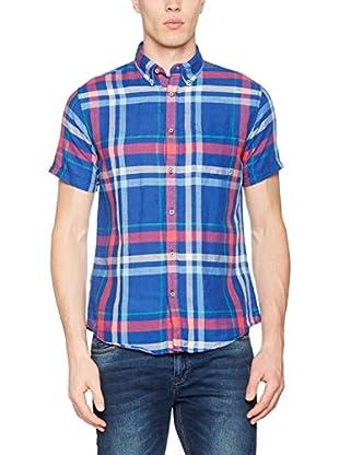 Springfield Camisa Hombre (Azul)