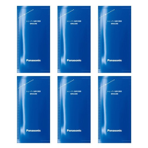 [Amazon.co.jp limited edition] Panasonic hammish Shaver charging-only cleaning cleaners (6 pieces) ES-4L06A