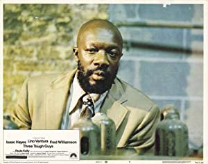 Three Tough Guys POSTER Movie (1974) Style E 11 x 14 Inches - 28cm x 36cm (Lino Ventura)(Isaac Hayes)(Fred Williamson)(Paula Kelly)(William Berger)