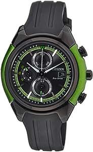 Citizen Dome Herren-Armbanduhr XL Chronograph Resin CA0289-00E