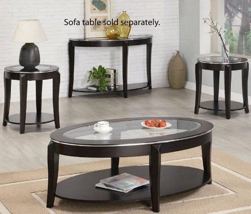 Buy Low Price Elation Glass Cappuccino Copper Coffee Table