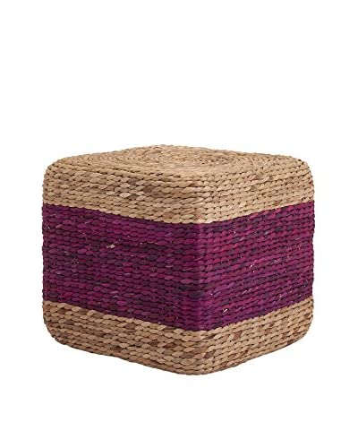 Hien Hyacinth Stool, Purple