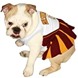 Pets First NFL Washington Redskins Dog Cheerleader Dress, Medium at Amazon.com