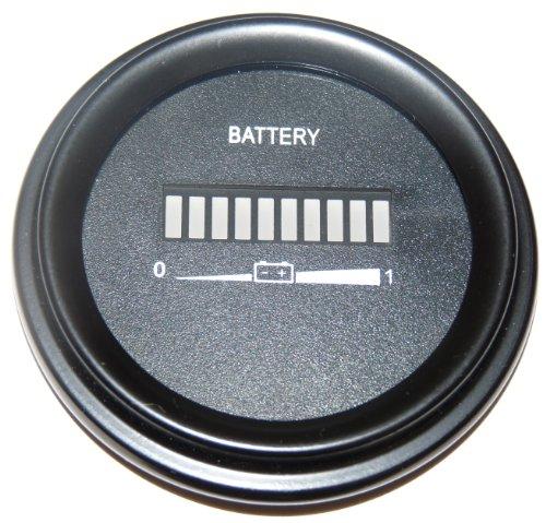 36 volt ezgo battery indicator, meter, gauge - golf cart